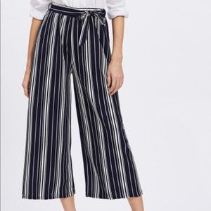 Pants - NEW Leg Pants- Vertical Striped